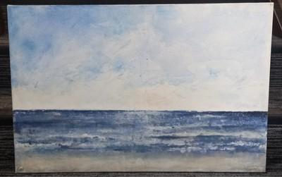 Lot 84 - Jessie FARLIE, seascape, acrylic on canvas,...