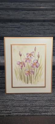 Lot 85 - Cheri BLUM (1969-2003), Purple Irises,...