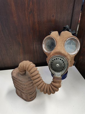 Lot 54 - A pre WWII era gas mask.