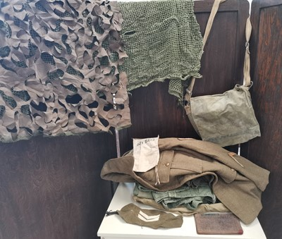 Lot 57 - A collection of WWII era British military...