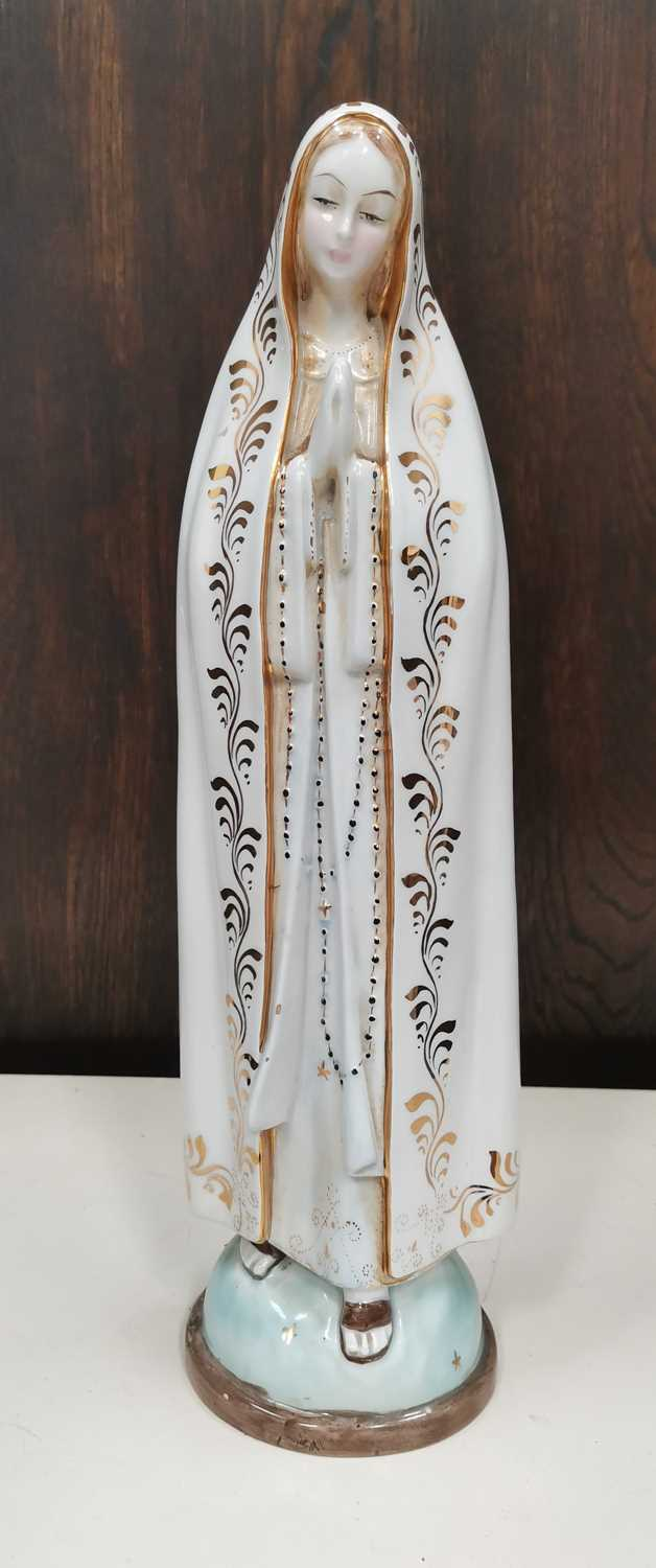 Lot 11 - An Italian vintage 'Our Lady of Fatima'...