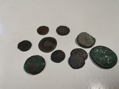 Lot 35 - Ten Roman coins