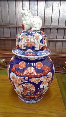 Lot 20 - An early 20th-century Japanese porcelain imari...