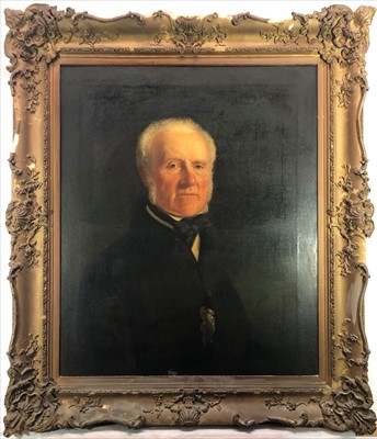 Lot 3-English School, 19th Century Portrait of Adam...