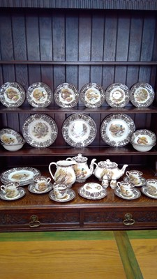 """Lot 5 - The Royal Worcester Group Palissy """"Game series""""..."""