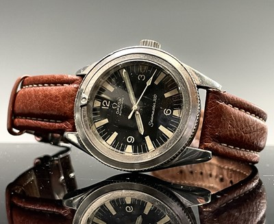 Lot 11 - An Omega 1960s Seamaster 300 stainless steel...