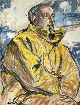 Lot 21 - John Rankine BARCLAY (1884-1962) Portrait of...