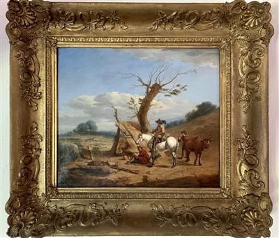 Lot 9-Follower of Jan STEEN (1626-1679), 18th Century...