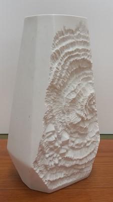 Lot 5 - A porcelain West German Fossil Vase by...