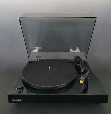 Lot 13 - A Fluance RT80 hifi turntable record player...