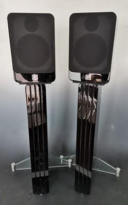 Lot 14 - A pair of Q Acoustics Concept 20 bookshelf...