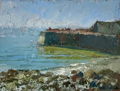 Lot 15 - Neil PINKETT (1958) Lamorna Cove Oil on board...
