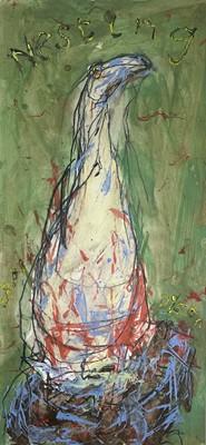 Lot 22 - Julian DYSON (1936-2003) Nesting Mixed media...