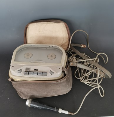Lot 17 - A 1960s Butoba reel to reel recorder with...