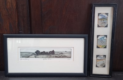 Lot 15 - J Arthur WEEKES (XIX-XX) A trio of framed...