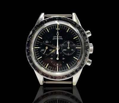 Lot 19 - A rare and desirable Omega Speedmaster...