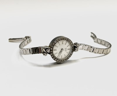 Lot 4 - A ladies Tudor Royal Rolex wristwatch with 9ct...