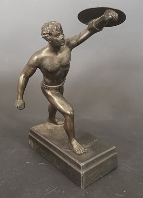 Lot 16 - An antique Borghese Gladiator grand tour...