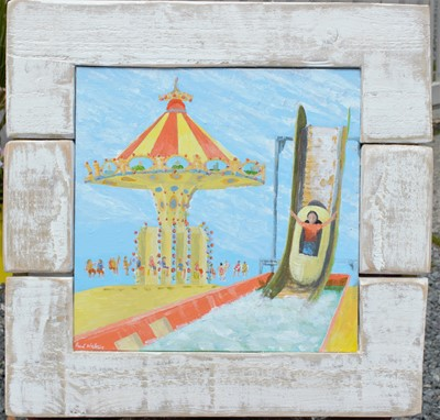 Lot 40 - Paul WESTAWAY 'Unchained and Log Flume'...
