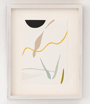 Lot 2 - Kitty HILLIER 'Silent, gliding, silhouette'....