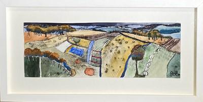 Lot 17 - Amanda BEE Rolling Fields, Wiltshire Mixed...