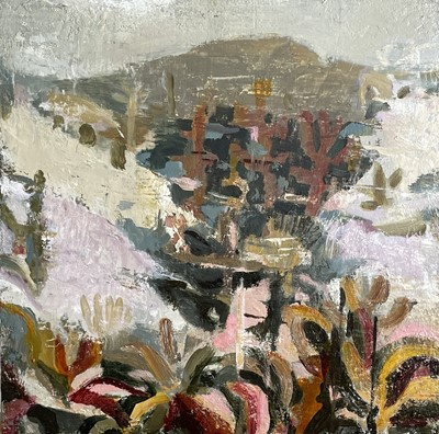 Lot 29 - Dana FINCH The Path Home Oil on board Signed,...