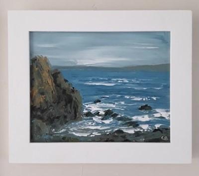 Lot 22 - Christine BRUNNOCK Rocks near Bamaluz, St Ives...