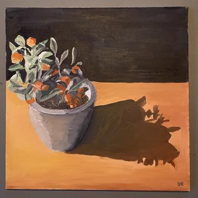 Lot 19 - Oliver ERRINGTON The Orange Tree Oil on canvas...