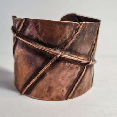 Lot 43 - The Cornish Copper CompanyRecycled copper cuff...