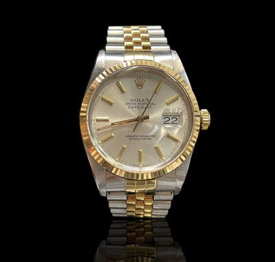 Lot 17 - A Stainless steel and 18ct yellow gold Rolex...