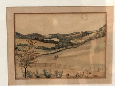 Lot 11 - A 19th-century watercolour possibly by Alfred...