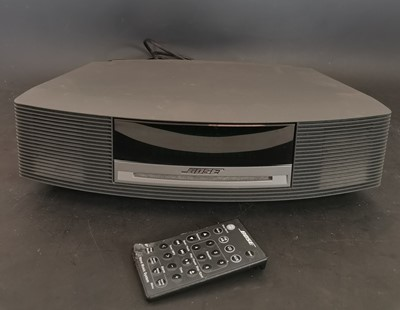 Lot 5 - A Bose AWRCC5 music system with remote.