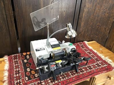 Lot 11 - A SKS Cyclone model 101B key cutting machine,...