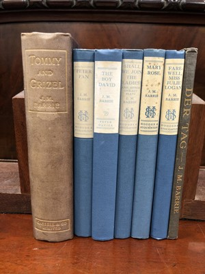 Lot 14 - J.M.Barrie The works of J.M.Barrie clothbound...