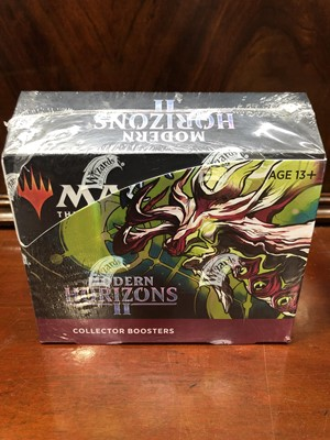 Lot 18 - Modern Horizons II Collector Boosters, sealed...