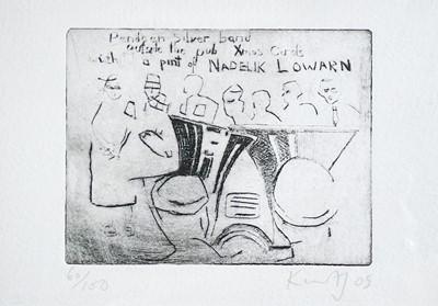 Lot 33 - Kurt JACKSON (1961) Pendeen Silver Band...