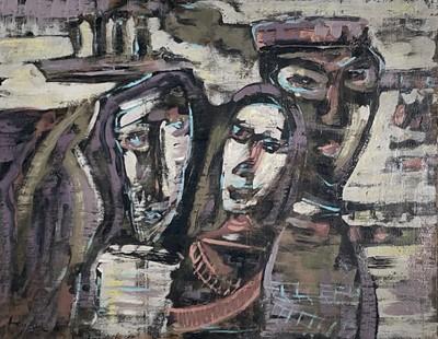 Lot 81 - Patrick HAYMAN (1915-1988) 'Potempkin' Oil on...