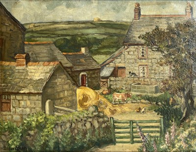 Lot 17 - Eileen IZARD (XIX-XX) Rosewall Farm, St Ives...