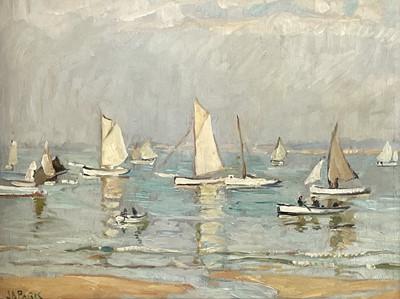 Lot 51 - John Anthony PARK (1880-1962) Summer Calm, St...