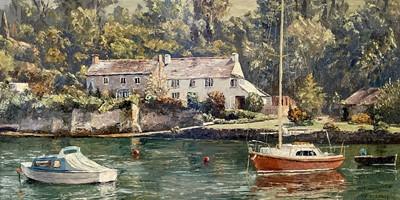 Lot 86 - Nancy BAILEY (1913-2012) Quarry Cottages, Pill...