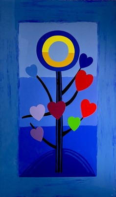Lot 19 - Terry FROST (1915-2003) Blue Love Tree (Kemp...