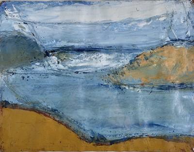Lot 70 - Dick GILBERT (XX) St Ives Seascape Mixed media...
