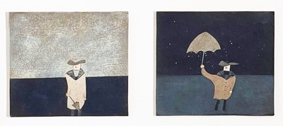 Lot 10 - Andrew LANYON (1947) The Photographic Muse Oil...