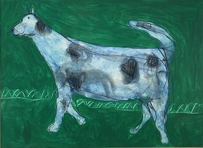 Lot 75 - Julian DYSON (1936-2003) The Dog Mixed media...