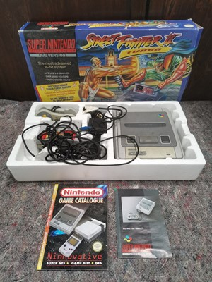 Lot 3 - A Super Nintendo Street Fighter II Turbo with...