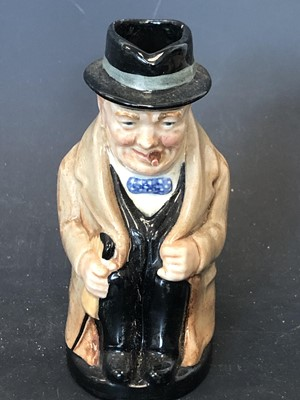 Lot 12 - Royal Doulton Winston Churchill character jug,...