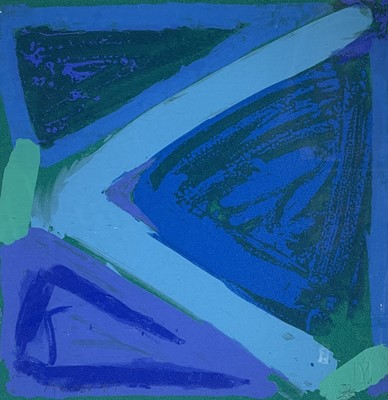 Lot 26 - Anthony FROST (1951) Totally Blue Beat...