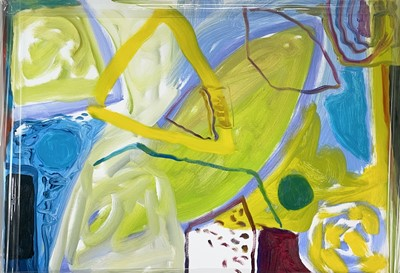 Lot 96 - Janet LYNCH (1938) April Day Oil on canvas 50...