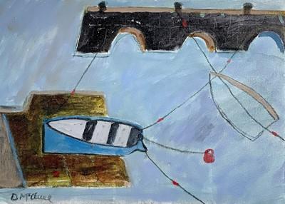 Lot 1 - Daphne McCLURE (1930) St Ives Harbour Oil on...