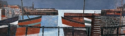 Lot 27 - Sheila TOLLEY (1939) Midnight - Porthleven,...